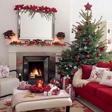 świąteczny wystrój wnętrz