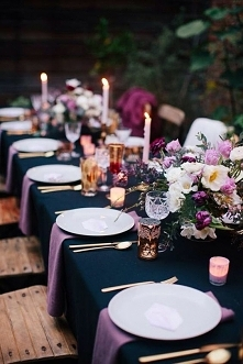 dekoracja stołu - pomysł