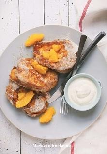 Coś słodkiego i super prostego. Idealne na śniadanie. Palce lizać. Przepis po...