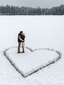 Zimowy spacer przedświąteczny :)