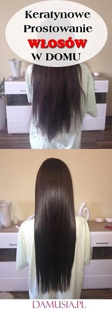 Keratynowe Prostowanie Włos...