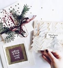 piękne kartki świąteczne DIY ♥