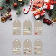 Pobierz i wydrukuj - zabawne etykiety na prezenty
