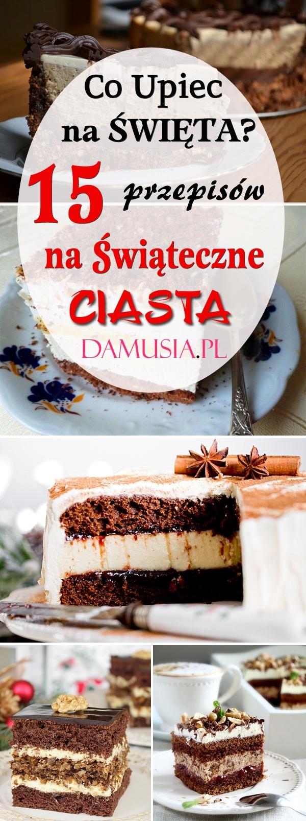 Przepisy na Świąteczne ciasta Zapraszam!