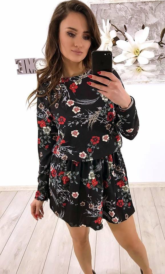 Sukienki w kwiaty <3 Idealne na poprawę humoru w te zimowe dni