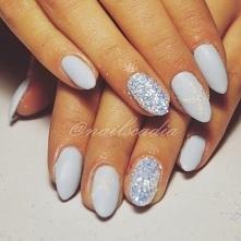 blue tide-neo nail +Śnieżka ❄️#nails#winternails