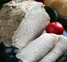 Schab gotowany (na kanapki)