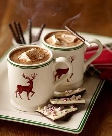Gorąca czekolada z piankami? Czemu nie ;)