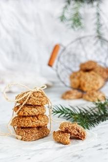 Ciasteczka migdałowo-kokosowe bezglutenowe i wegańskie. Pycha!