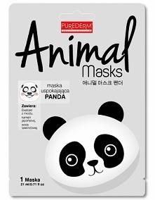 PUREDERM MASKA ANIMAL PANDA PUREDERM maska Animal Panda to maska w płacie, wspomaga regenerację i nawilżanie skóry twarzy. Sprawi, że Twoja cera nabierze blasku i świeżości. Poz...