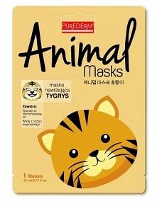 PUREDERM MASKA ANIMAL TYGRYS  Koreańska marka Purederm stawia na najwyższą ja...