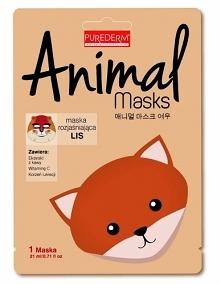 PUREDERM MASKA ANIMAL LIS  Conny maska Animal Lis ma działanie wybielające, n...