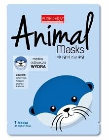 PUREDERM MASKA ANIMAL WYDRA PUREDERM maska Animal Wydra wygładza, poprawia el...
