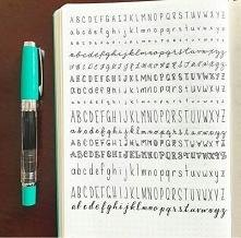 literki warte przetestowania w bullet journal i nie tylko! :)