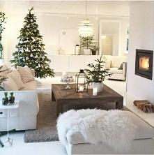 świąteczne ubrane wnętrza nadają ciepły klimat <3