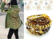 Biżuterię w stylu gwiazd zn...