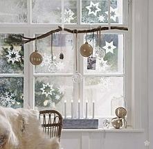 Nawet jeśli święta nie będą białe, można wyczarować takie piękne śnieżynki na...