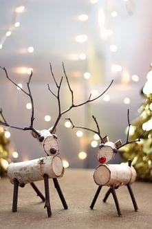 świąteczne reniferki, są cudne!