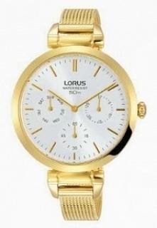 Lorus RP608DX9 kobiecy, subtelny zegarek zasilany kwarcowym mechanizmem Seiko...