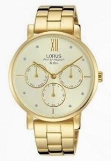 Lorus RP604DX9 kobiecy zegarek zasilany kwarcowym mechanizmem Seiko. Wykonany...