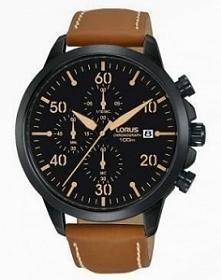 Lorus RM349EX9 męski zegarek zasilany kwarcowym mechanizmem Seiko. Wykonany z...