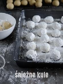 Ciasteczka śnieżne kule - przepis po kliknięciu w zdjęcie :)
