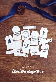 Etykietki prezentowe do pobrania