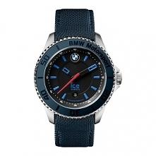 ICE WATCH 001115 męski zegarek z kolekcji BMW MOTORSPORT  zasilany kwarcowym mechanizmem. Koperta stalowa z niebieskim pierścieniem. Przymocowano do niej niebieski skórzany pase...