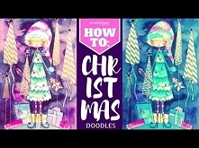 HOW TO: Christmas Doodles TUTORIAL
