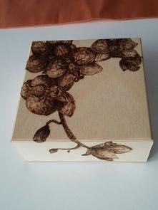 Storczyki na szkatulce