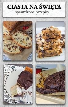 Ciasta na święta Bożego narodzenia - także ciasta bezglutenowe