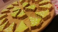 Niezbyt to zdrowe, ale moje więc leci na tablicę :D Kruche ciasteczka przekła...