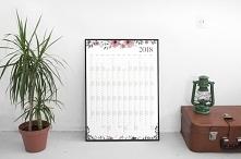 Kalendarz 2018 na ścianę
