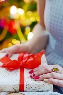 Mój świąteczny manicure :)