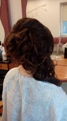 Moja fryzura studniówkowa 2017