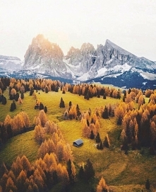 Alpe di Siusi, Dolomites Italy