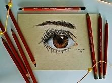 Eye study Pierwszy rysunek ...