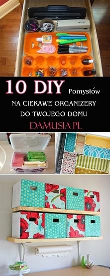 10 DIY Pomysłów na Ciekawe Organizery do Twojego Domu