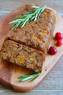 Nut roast – wegańska pieczeń z orzechami