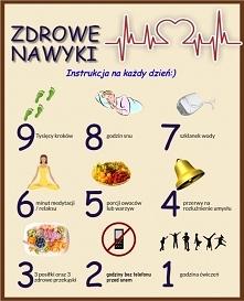 jak wyrobić zdrowe nawyki?