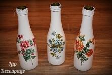 Kwiatowe trio. Decoupage. B...