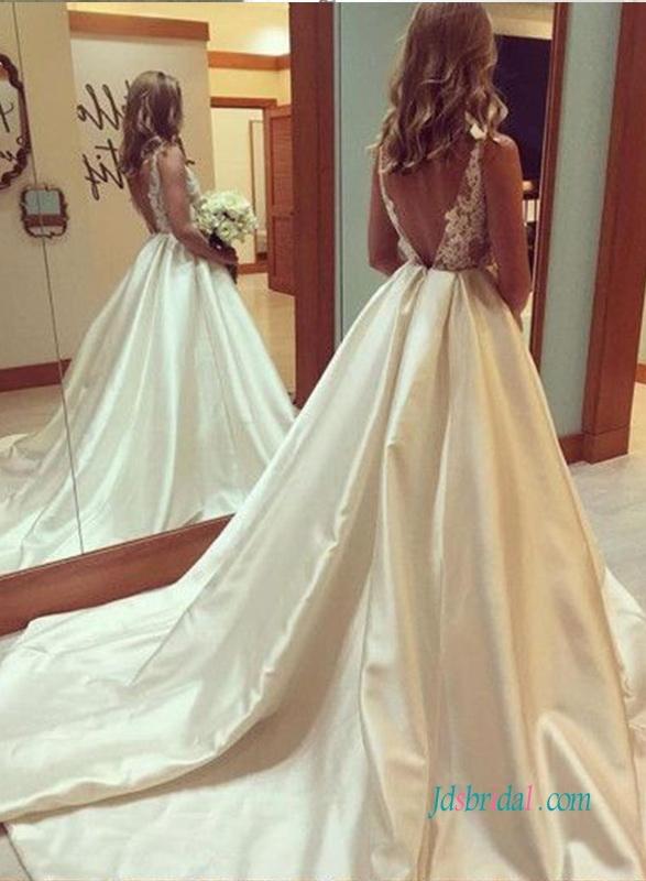 Przedmiot: H1000 Sexy sheer koronki stanik suknia balowa suknia ślubna