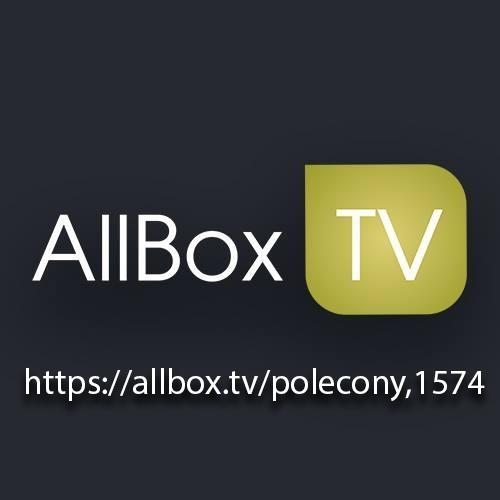 Zarejestruj się już dziś w serwisie: Allbox. tv - centrum rozrywki, najnowsze filmy, seriale oraz wiele wiele więcej, i otrzymaj darmowe kredyty do serwisu. Przepisz link ze zdjęcia do swojej przeglądarki. Ciesz się darmowymi kredytami: Zapraszamy!!