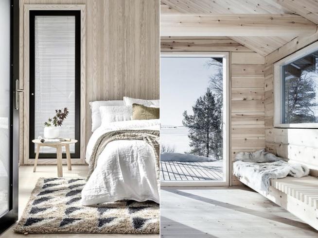 Fińskie wnętrza <3 Kto lubi styl skandynawski? Po kliknięciu w zdjędcie więcej inspiracji lub na poliszdesign .pl