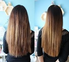 Keratynowe prostowanie włosów w domu - zdjęcia i efekty przed i po. Więcej na...