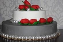CZEKOLADOWO WIŚNIOWY TORT