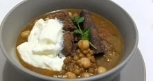 Marokańska zupa gulaszowa