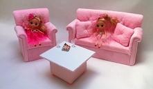 Ręcznie robione mebelki dla lalek. Po więcej zapraszam na mojego fp. Link w k...