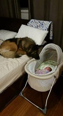 Ona widzi swoje dziecko(^__^)✔