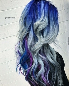 winter hair ombre